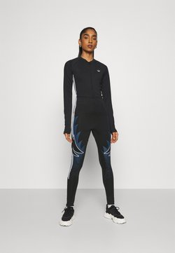 adidas Originals - CATSUIT - Combinaison - black/crew navy/white