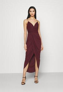 Forever New - CHARLOTTE DRAPE DRESS - Vestido de tubo - burgundy