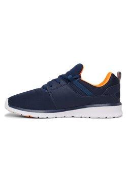 DC Shoes - HEATHROW - Sneaker low - dc navy/orange