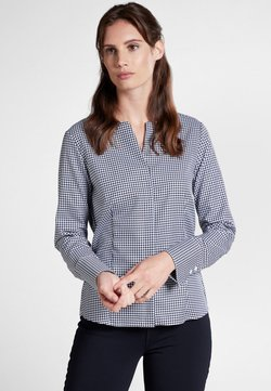 Eterna - MODERN CLASSIC - Bluse - blue white