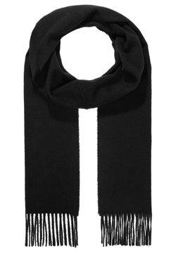 Johnstons of Elgin - 100% Cashmere Scarf UNISEX - Sciarpa - black