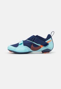 Nike Performance - SUPERREP CYCLE - Fahrradschuh - blue void/total orange/copa