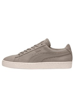 Puma - SUEDE CLASSIC SHEARLING  - Baskets basses - grey