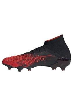 adidas Performance - Fußballschuh Nocken - rot/schwarz
