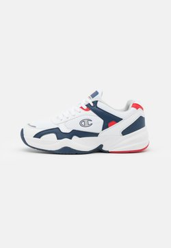 Champion - LOW CUT SHOE PHILLY - Kuntoilukengät - white/navy/red
