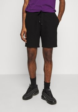 Topman - STRUCTURED - Jogginghose - black