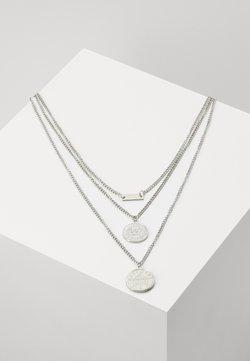 Urban Classics - LAYERING NECKLACE AMANDA - Necklace - silver-coloured