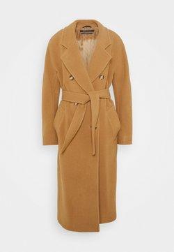 Marc O'Polo - COAT WELT POCKETS - Classic coat - true camel