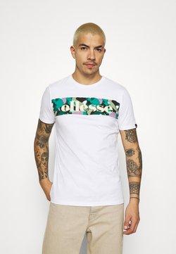Ellesse - MORELA - Camiseta estampada - white