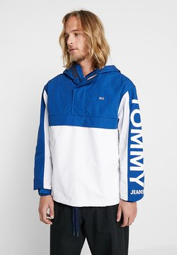 Tommy Jeans - GRAPHIC POPOVER - Windbreaker - blue