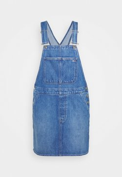 Tommy Jeans Curve - DUNGAR DRESS  - Jeanskleid - denim medium