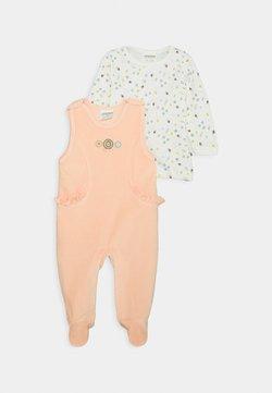 Jacky Baby - WOODLAND SET - Jumpsuit - altrosa/off white