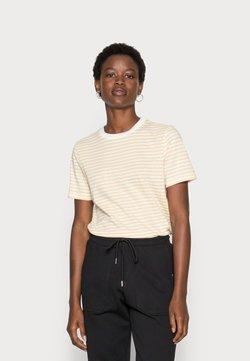 Selected Femme - SLFMY PERFECT SS TEE BOX CUT STR COLOR B - T-Shirt print - sahara sun