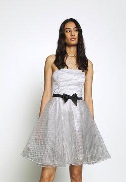 Swing - Cocktail dress / Party dress - weiß/schwarz