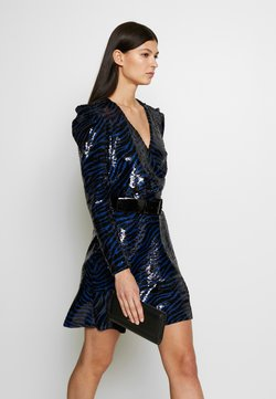 MICHAEL Michael Kors - BENGAL  - Cocktailkleid/festliches Kleid - black/twilight blue