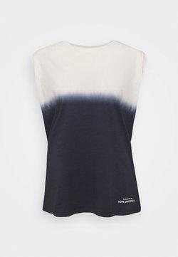 AllSaints - TANK - Top - ink blue/white