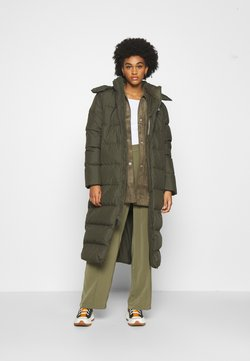 The North Face - W TRIPLE C PARKA - Daunenmantel - new taupe green