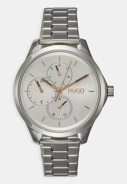 HUGO - FEARLESS - Montre - silver-coloured