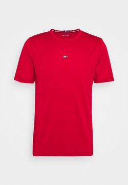 Tommy Hilfiger - MOTION FLAG TRAINING TEE - T-Shirt basic - red