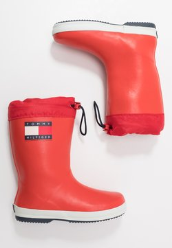 Tommy Hilfiger - Kumisaappaat - red