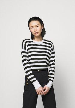 Lauren Ralph Lauren - Strickpullover - white/black