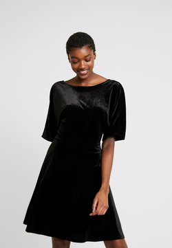 Monki - ADALIA DRESS - Cocktail dress / Party dress - black topaz