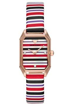 Emporio Armani - GIOIA - Montre - black,purple,red,white