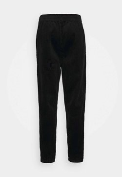 Weekday - JON TROUSERS - Pantalon classique - black