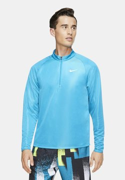 Nike Performance - M NKCT CHLLNGR  - Funktionsshirt - neo turquoise/white