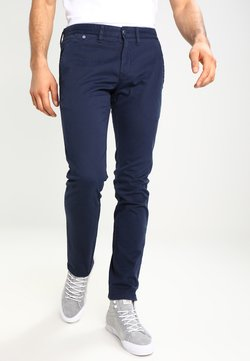 Tommy Jeans - SLIM FERRY - Chinot - navy blazer