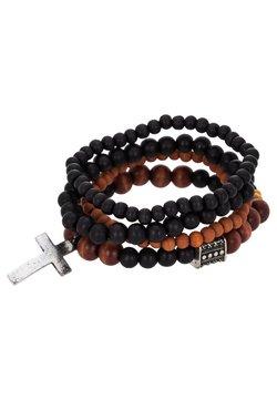 Icon Brand - TRY 4 PACK - Bracelet - black/brown
