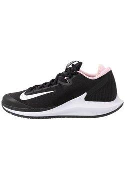 Nike Performance - COURT AIR ZOOM HC - Zapatillas de tenis para todas las superficies - black/white/pink foam