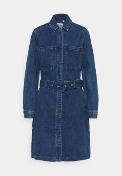 s.Oliver - Denim dress - dark blue