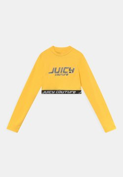 Juicy Couture - WAISTBAND TEE - Pitkähihainen paita - primrose yellow