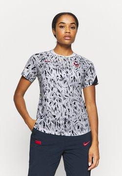 Nike Performance - FRANKREICH DRY - Article de supporter - white/blackened blue/university red