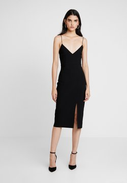 Bec & Bridge - VALENTINE MIDI DRESS - Shift dress - black