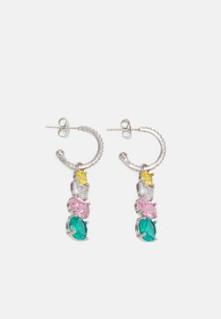 Pieces - FPPOLINA OCCASION EARRINGS - Earrings - silver-coloured/multi