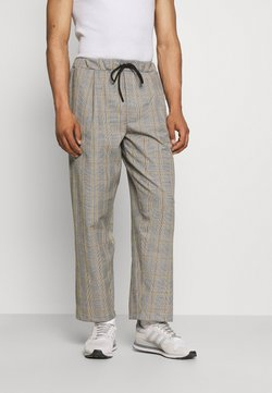 Vintage Supply - BAGGY CARPENTER TROUSERS - Stoffhose - beige