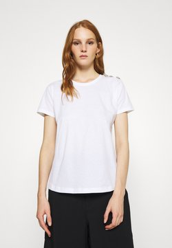Custommade - MOLLY - T-Shirt basic - white