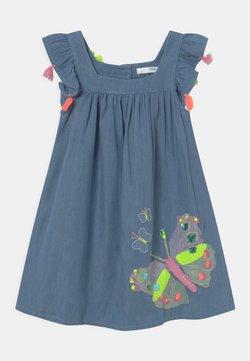 Marks & Spencer London - BUTTERFLY DRESS - Jeanskleid - blue denim