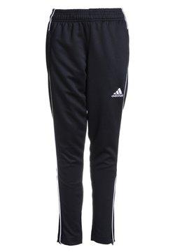 adidas Performance - CORE ELEVEN AEROREADY FOOTBALL PANTS - Verryttelyhousut - black/white