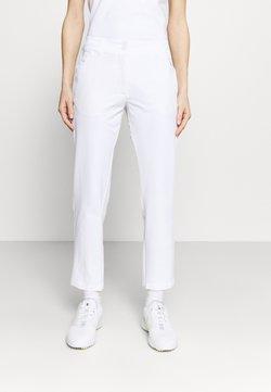 Calvin Klein Golf - ARKOSE TROUSER - Kangashousut - white