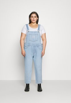 Levi's® Plus - EVERYDAY OVERALL - Hängselbyxor - so over it
