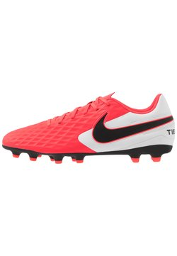 Nike Performance - TIEMPO LEGEND 8 CLUB FG/MG - Voetbalschoenen met kunststof noppen - laser crimson/black/white