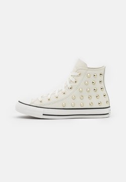 Converse - CHUCK TAYLOR ALL STAR - Korkeavartiset tennarit - egret/vintage white/black
