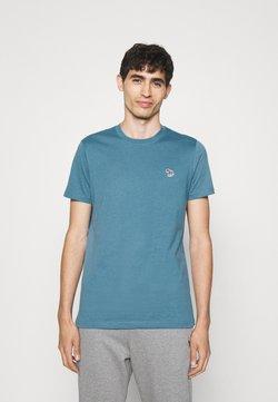 PS Paul Smith - ZEBRA BADGE UNISEX - T-Shirt basic - blue
