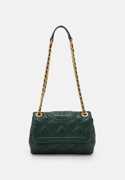 Tory Burch - FLEMING SOFT SMALL CONVERTIBLE SHOULDER BAG - Torebka - pine tree