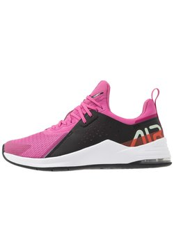 Nike Performance - AIR MAX BELLA TR 3 - Hardloopschoenen neutraal - magic flamingo/black/pistachio frost/team orange/hyper blue/summit white