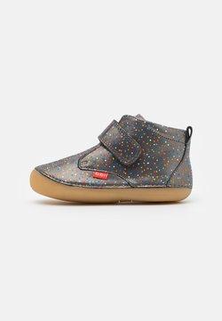 Kickers - SABIO - Vauvan kengät - silver glitter/multicolor