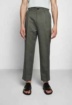 Filippa K - SAMSON TROUSER - Chinot - green grey